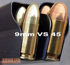 Aah, the never ending debate about the effectiveness of handgun ammunition in different calibers....