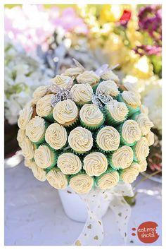 cutest cupcake bouquet