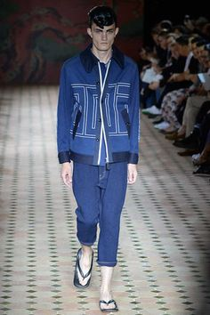 Junya Watanabe Spring 2015 Menswear Collection on Style.com: Runway Review
