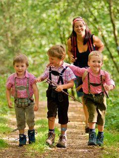 Wandern mit Kindern ---- Hiking with kids