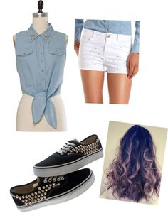 """summer outfit"" by morena-koorie ❤ liked on Polyvore"