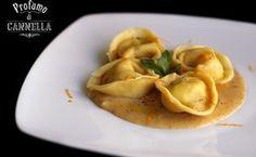 Tortelloni di pesce profumati alla menta con salsa di pane all'arancia – ispirazione gourmet