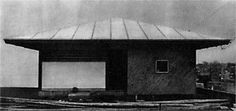 Umbrella house 1961 Kazuo Shinohara