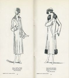 """""""Dresses from Liberty & Co.'s Autumn 1925 Catalogue (X)"""""""