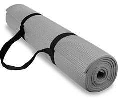 Spoga 14Inch AntiSlip Exercise Yoga Accessories with Carrying Strap Gray * Check out the image by visiting the link. (This is an affiliate link)