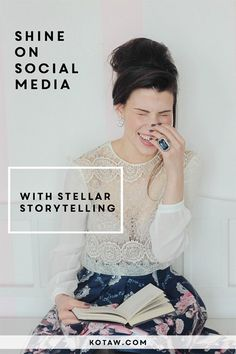 How to construct a brilliant brand story -- and #KOTAWesome marketing campaign through social media.