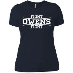 Kevin Owens KO Fight-01 Next Level Ladies' Boyfriend Tee