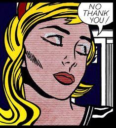 No Thank You | Roy Lichtenstein | 1964