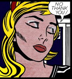 No Thank You | Roy Lichtenstein | 1964