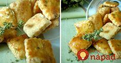 Namiesto krekrov z obchodu si pripravte poctivú domácu pochúťku z obľúbenou slovenskou prísadou - bryndzou.