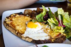 Croque Madame- Thank you, people of France.