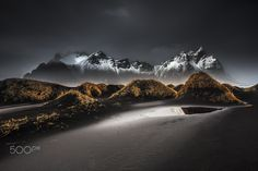 ":: Stokksnes :: - DARK BEAUTY | ICELAND  © Benoit Malausséna | <a href=""http://www.benoitmalaussena.fr"">www.benoitmalaussena.fr</a> 
