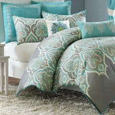 jcp   Madison Park Tara Paisley Comforter Set