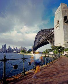 #throwbackthursday to that time I shot Sydney Harbour Bridge on my #mamiya7ii #rangefinder camera  #film #filmisnotdead #fujivelvia #velvia #mediumformat #sydneyharbourbridge by crentonphoto http://ift.tt/1NRMbNv