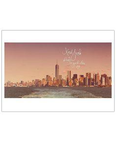 New York is always a good idea VON Monika Strigel now on JUNIQE!