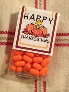 Thanksgiving tic tacs