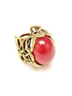 Bridgehampton Textured Woven Ring by Amrita Singh