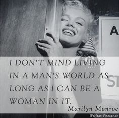 Our #MotivationalMonday quote comes from the beautiful #MarilynMonroe. Who runs the world? Girls! Stay #beautiful with Accessory Fanatic www.accessoryfanatic.com