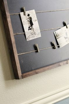 Chalk Board... Memo Board!! projects-for-city-living