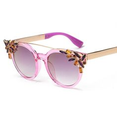 Crystal Fun Sunglasses