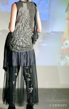 Naoto presents his work with a stunning gothic lolita   punk fashion show  during J-Pop Summit Festival. h. 2d2b7630e