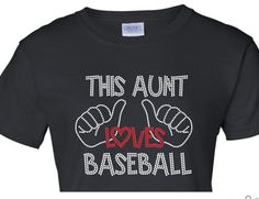 two thumbs for a baseball aunt
