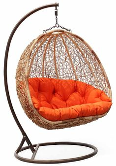 "I like this one because it has a stand. Some people may not have a place to hang one.  akt   I have to have some sort of ""floating"" seat. May it be a hammock or this awesome chair!"