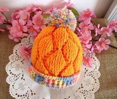 CROCHET Baby PATTERN Hat pattern   Diamonds by LiliaCraftParty
