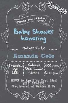 magazine cover baby shower invitations design online download and