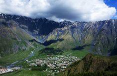 Caucasus mountains, Kazbegi, Georgia