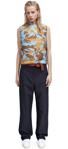 Acne Studios - Elena tech can navy Shop Ready to Wear, Accessories, Shoes and Denim for Men and Women