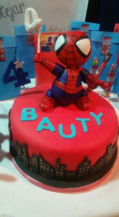 Torta Spiderman - Hombre Araňa