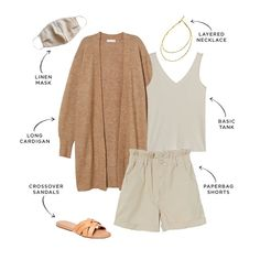 From tie dye and bike shorts to neon and puff sleeves, The Everymom's fashion editor is showing you how to style six of 2020's biggest trends. Summer Outfits For Moms, Casual Outfits For Moms, Mom Outfits, Spring Outfits, Cute Outfits, Fashion Outfits, Fashion Trends, Outfit Summer, Fashion Editor