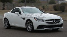 2017 Mercedes-Benz SLC SLC 300 Roadster LC 300 Roadster New 2 dr Convertible Automatic Gasoline 2.0L 4 Cyl Polar White
