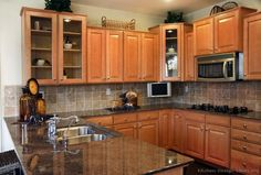 Furniture, Granite Counter Tops Price Under Kitchen Cabinet Lighting Kitchen Tile Backsplash Ideas Small Kitchen Design Ideas With Island: Delightful Granite Kitchen Counter Tops Interior Sets Kitchen Remodel, Modern Kitchen, Custom Kitchen Cabinets, Kitchen Countertops, New Kitchen, Wood Kitchen, Kitchen Renovation, Granite Countertops Kitchen, Kitchen Design