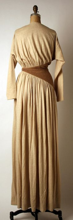 Evening dress Madame Grès (Alix Barton) (French, Paris 1903–1993 Var region)
