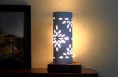 Como hacer una lampara de diseño. luminaria mágica!! #DIY #decorar