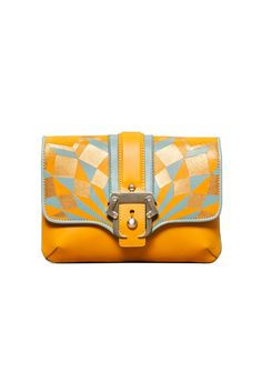 Paula Cademartori yellow clutch