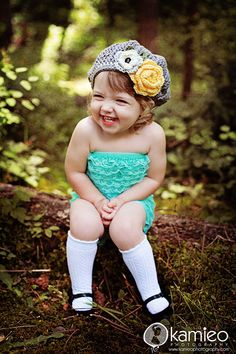 This little girl is adorable!