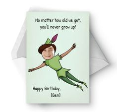 50+ Best Birthday Cards For Him & Her in 2020   #dirty #birthday #cards #for #him 10th Birthday, Happy Birthday, Birthday Congratulations, Birthday Cards For Him, Birthday Postcards, Never Grow Up, Happy B Day, Make A Person, Filing
