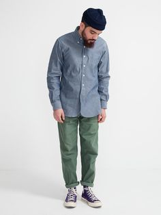 19TH CENTURY SHIRT CHAMBRAY