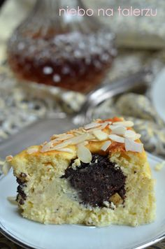 sernik makowy naziemniakach Cheesecakes, Deserts, Muffin, Sweets, Breakfast, Poppy, Morning Coffee, Gummi Candy, Candy