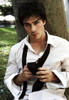 Ian Somerhalder | Everyone's favorite bad-boy vampire, Damon Salvatore! you just have to love that face!