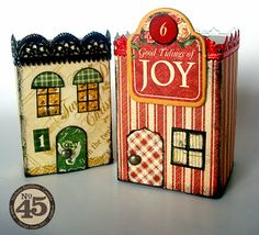Matchbox houses tutorial - a family friendly project