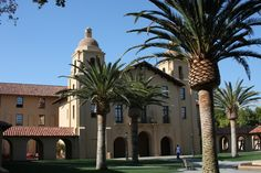 Stanford University or Stanford, is an American private research university located in Stanford, California on an 8,180-acre campus near Palo Alto. It is situated in the northwestern Santa Clara Valley on the San Francisco Peninsula. The architecture is Spanish so it has a look quite different from the eastern colleges with ivy covered brick. But, there is something about Stanford that makes your heart beat a little faster when you walk or drive through the campus!