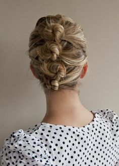 11 Most Popular Posts of 2011  (lot of twist and pin hairstyles)