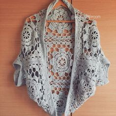 She wants both easy to wear, simple but elegant shrug or cardigan to wear in Far East.
