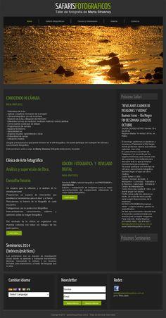 Sitio web del Taller de Fotografias - Diseño y Desarrollo: http://integralmedia.com.ar
