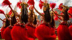 tahitian dancers | Polynesian Dancers - Highlights from the 2012 Billabong Pro Tahiti Fast Dance Off ...