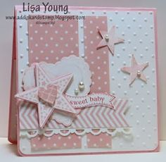 Add Ink and Stamp: Baby Girl Card CCMC277